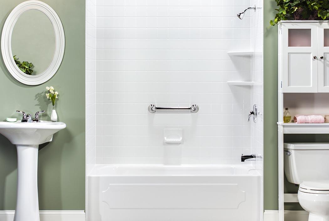 Calcutta Marble Bathroom