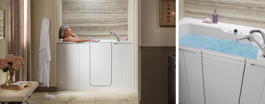 KOHLER® Walk-in Tubs, Showers for Aging Parents   Reborn